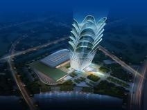 哈尔滨框架筒体结构楼BIM新技术的应用分享
