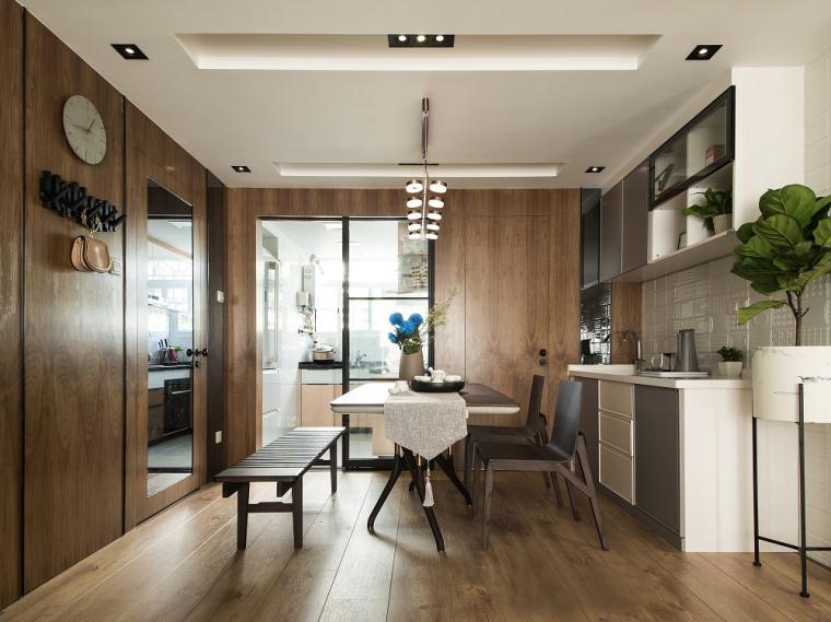 中山清新台式风格的居住空间