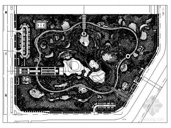 [河南]现代居住区景观规划设计施工图