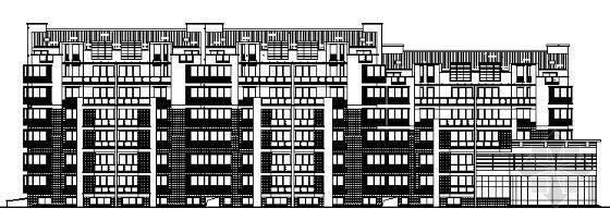 某小区住宅楼建筑施工图(全套)