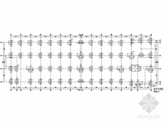 [温州]地上四层框架结构车间厂房结构施工图