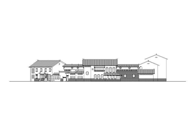 10套徽派建筑方案施工图合辑(CAD)