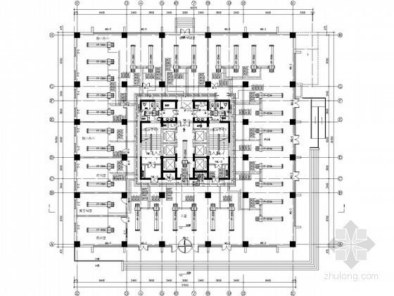 [太原]科研办公楼空调通风设计施工图(人防地下室)