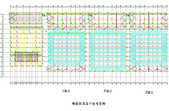 [湖南]地下砼结构地上钢结构会展馆钢桁架屋盖提升专项方案
