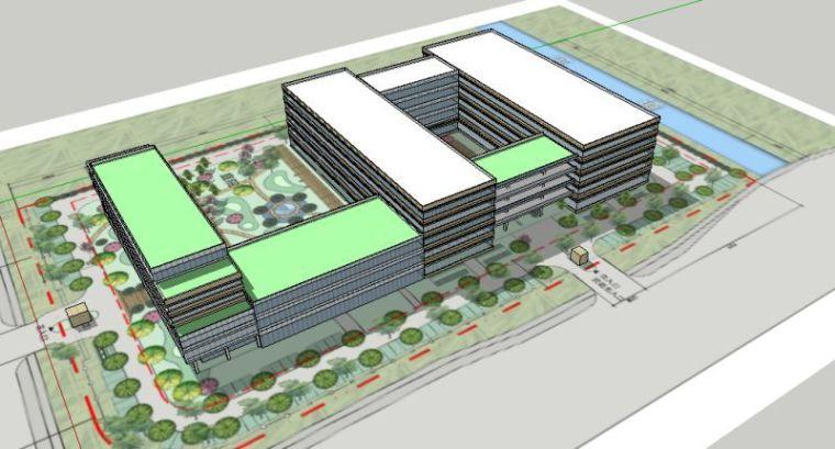 麻烦各位大神点评一下公司大楼的设计方案-1.jpg