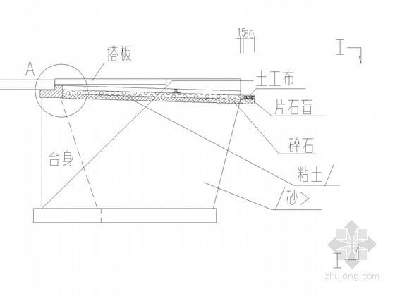 U形混凝土衬砌渠道设计图资料下载-三跨预应力混凝土连续刚构桥U型桥台台后处理设计图