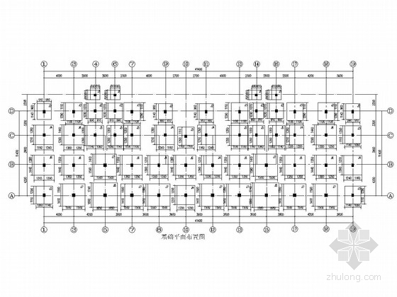 5层框架结构安居房结构施工图