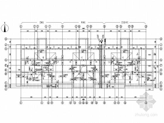 [北京]18层剪力墙结构住宅楼结构施工图(平板式筏基)