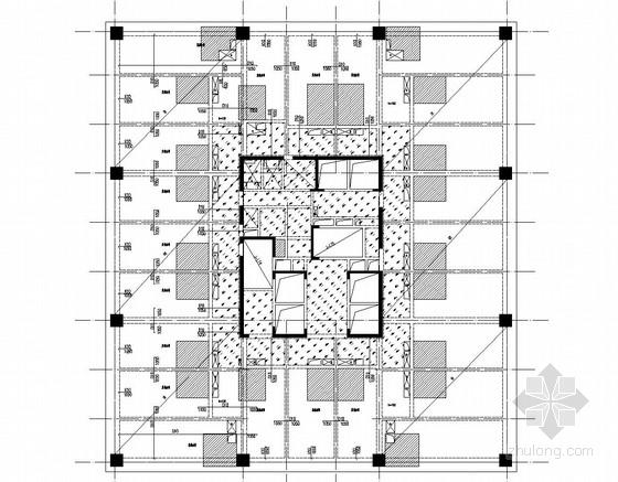 17层框架剪力墙结构五星级酒店结构施工图(预应力端承摩擦型桩)