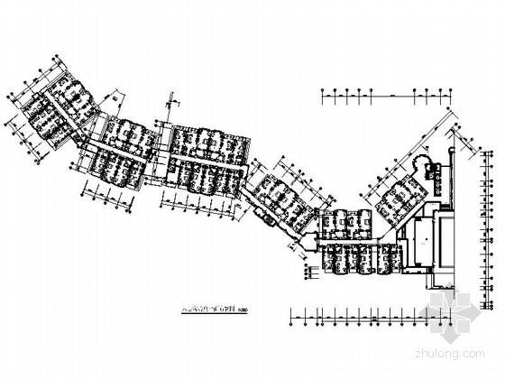 [广东]五星级文化主题酒店装修CAD竣工图(含实景)