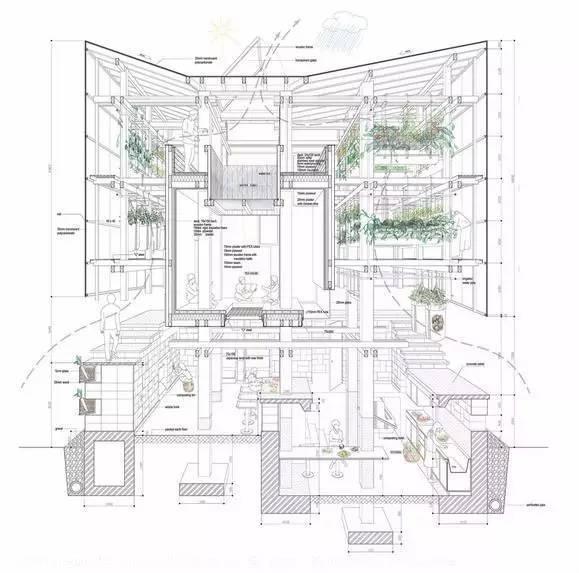 他放出了封存多年最杰出的建筑图纸_6