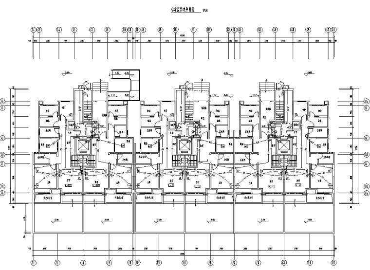 陕西省住宅配套商业电气施工图