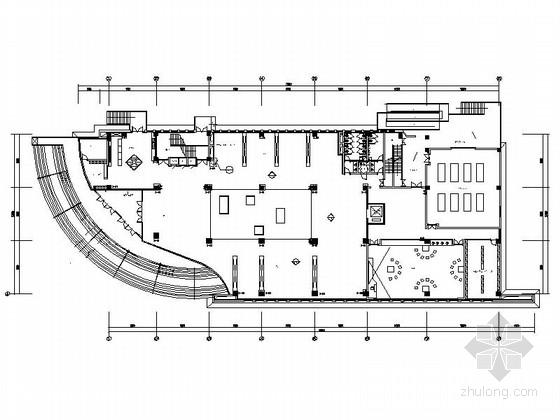 [青岛]国际生态智慧城艺术学校体育馆及游泳馆装修施工图