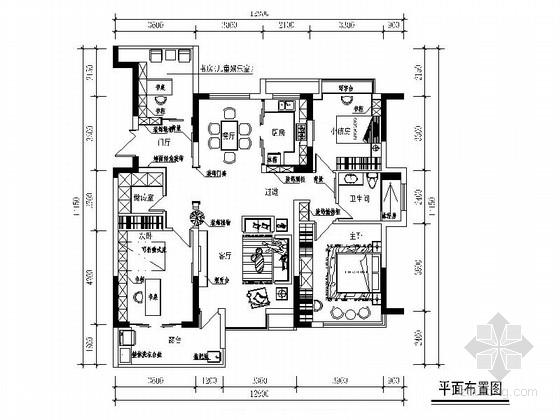 [绍兴]优质楼盘现代风格三居室装修图(含效果图)