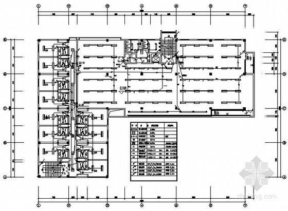 商业写字楼电气施工图纸