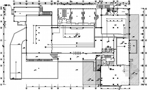 浙江某技术学院教学综合楼弱电系统图纸