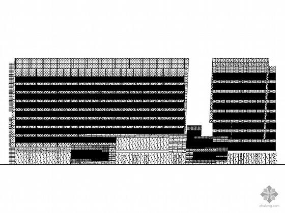 [广州]某CBD项目五星级酒店幕墙及外墙装饰件建筑施工图