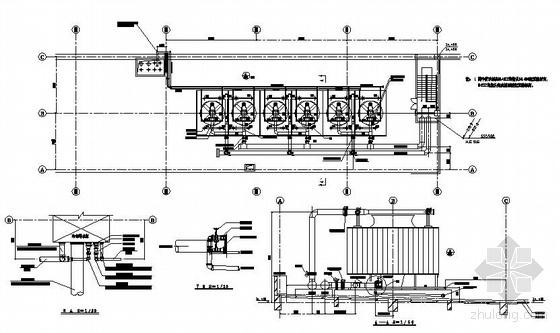某厂房空调图纸资料下载-某大型厂房空调图纸
