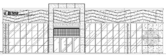 [成都市]某二层电梯公寓售楼中心建筑方案图(带效果图)