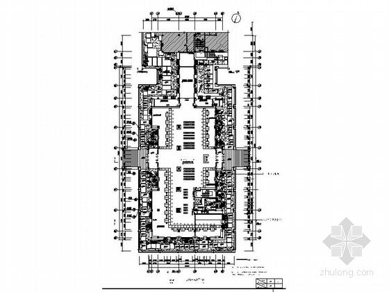 [长春]五A级重点旅游保护区综合服务中心室内施工图