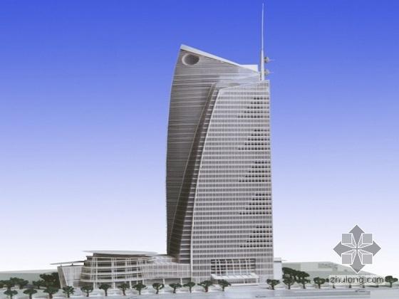 某市东部行政中心信息大厦竞标方案(概念设计)