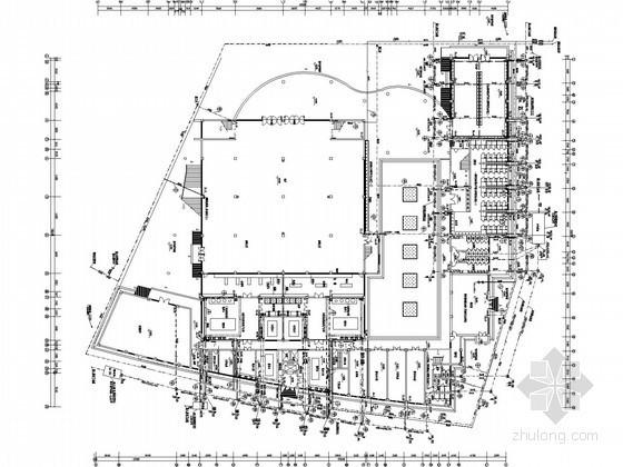 [北京]学校3层食堂及浴室给排水施工图纸