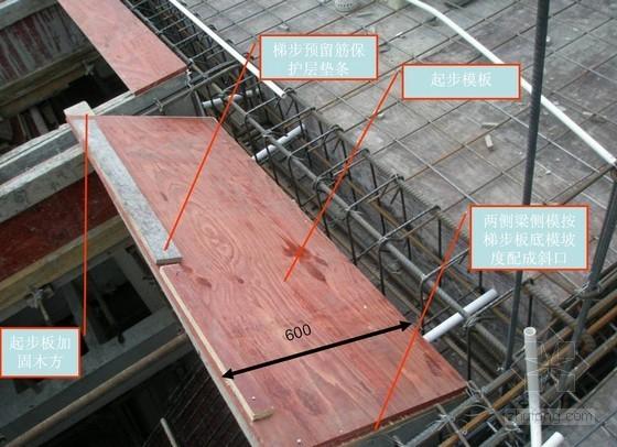 [重庆]建筑工程楼梯模板施工工艺(附图丰富)