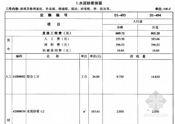 [贵州]2004版市政工程计价定额电子版(3册通本1811页)