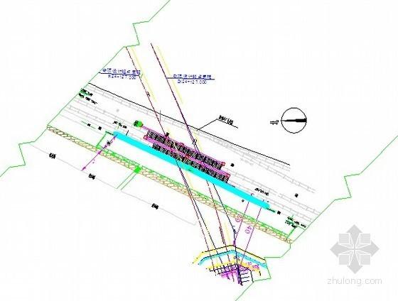 [山东]地铁隧道下穿铁路人工挖孔桩及刚便桥施工方案