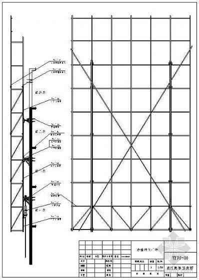 某框架结构超高层建筑YF附着式升降脚手架施工方案