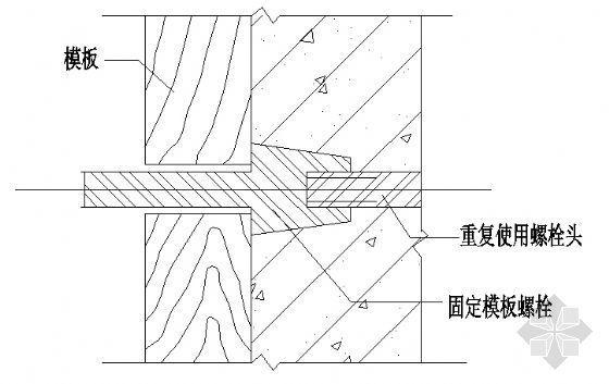 地下室对拉模板螺栓(套管式、埋入式)节点防水2