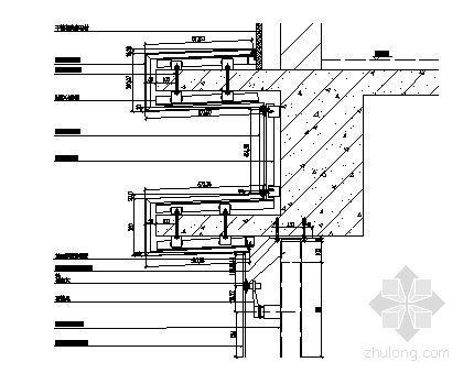 MQ1顶部包铝板纵剖节点图一