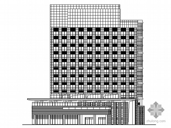 某十三层白领公寓建筑施工图