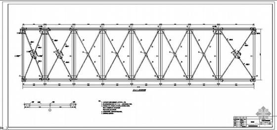 山西某煤场皮带走廊改造工程结构设计图
