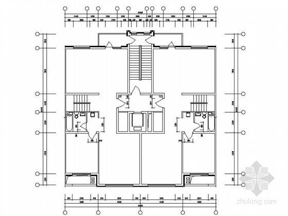 某板式高层住宅跃层户型图(233/233)