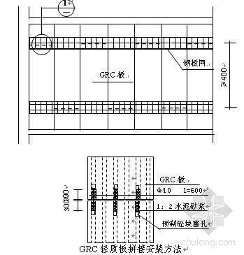 山东省某汽车站GRC轻质墙板施工方案