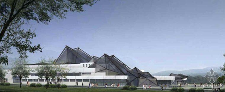 多面体异形组合钢屋盖结构施工工法