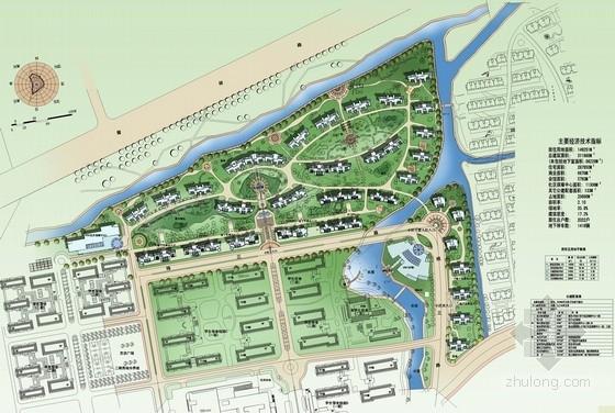 [浙江]大学校园教职工经济适用房项目景观设计总平面图(高清)