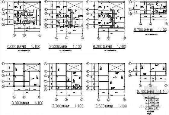 [广西]私人住宅砖混结构设计图