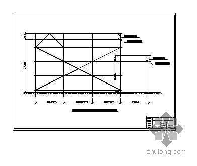 北京某危改项目安全防护棚施工方案(附图)
