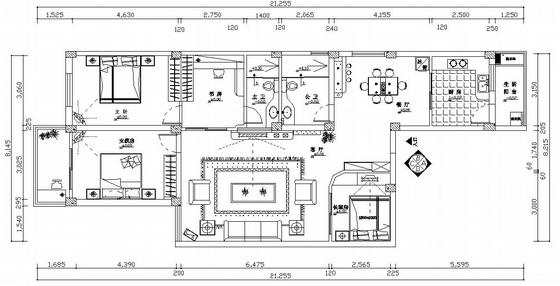 经典家装水电设计施工图