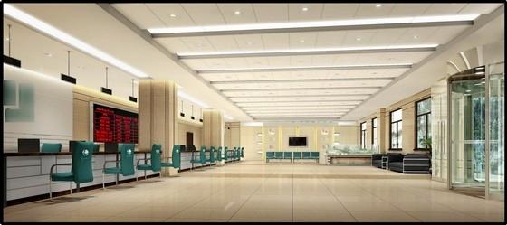 [葫芦岛]现代国家供电系统生产调度综合楼设计概念方案图客户服务中心效果图