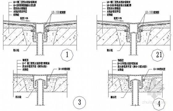 厨浴厕排水管口节点防水