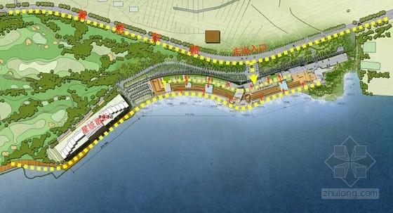 [山东]滨海小镇景观概念方案设计文本-人行系统设计