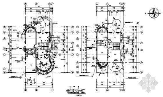 某二层别墅建筑、结构图纸-3