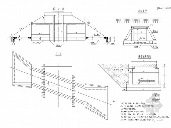 高速公路钢筋混凝土盖板涵通用图