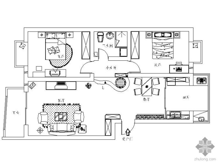 异域二居室装修图_1