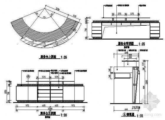 服务台施工图3