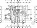 [湖南]住宅楼锤击式沉管灌注桩基础及承台配筋设计图