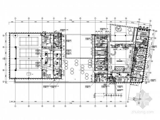 [安徽]多层办公楼空调通风排烟系统设计施工图